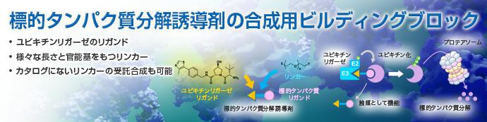 標的タンパク質分解誘導剤の合成用ビルディングブロック