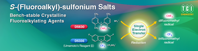 S-(Fluoroalkyl)-sulfonium_Salts: Bench-stable Crystalline Fluoroalkylating Agents