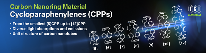 Carbon Nanorign Materials: Cycloparaphenylenes (CPPs)