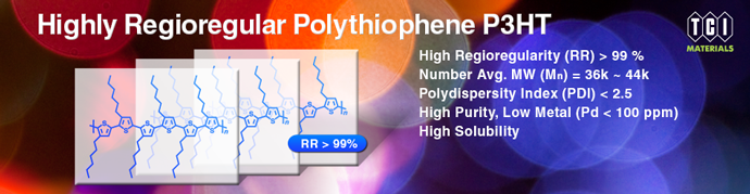 Highly Regioregular Polythiophene