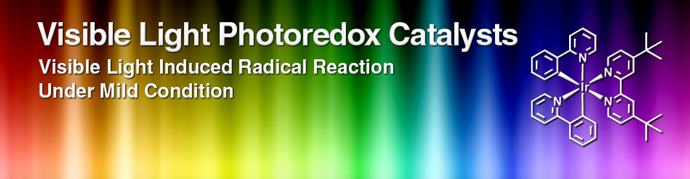 Visible Light Photoredox Catalysts