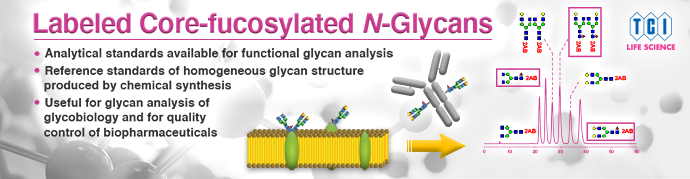 Labeled Core-fucosylated N-Glycans