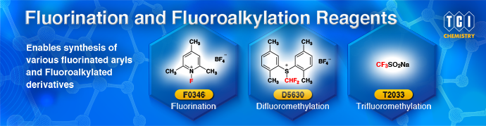 Fluorination and Fluoroalkylation Reagents