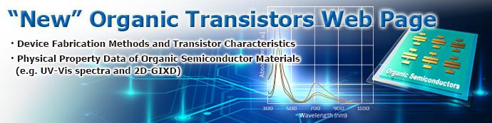 Organic Transistor Web Page