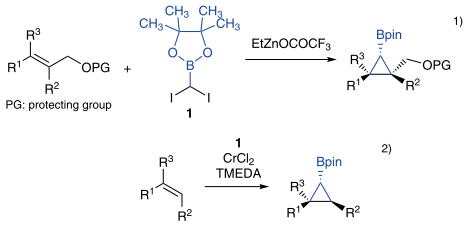 Reagent for the Formation of Borylcyclopropanes