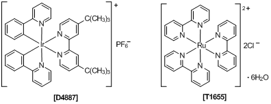 Transition metal photoredox catalysts