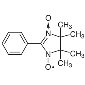 PTIO (=2-Phenyl-4,4,5,5-tetramethylimidazoline-3-oxide-1-oxyl) [Stable free radical reagent for the simultaneous determination of NO and NO2 in the atmosphere]