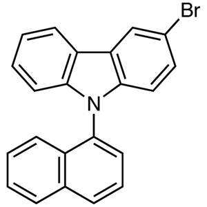 3-Bromo-9-(1-naphthyl)-9H-carbazole