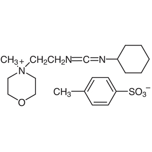 1-Cyclohexyl-3-(2-morpholinoethyl)carbodiimide Metho-p-toluenesulfonate [for Peptide Synthesis]