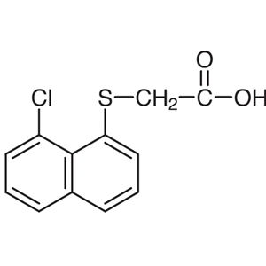 (8-Chloro-1-naphthylthio)acetic Acid