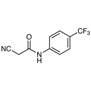 2-Cyano-N-[4-(trifluoromethyl)phenyl]acetamide