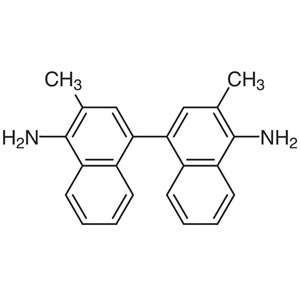 3,3'-Dimethylnaphthidine [for Colorimetric Determination of Cl in Water]