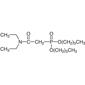 Dihexyl N,N-Diethylcarbamylmethylenephosphonate [for Extraction of Lanthanides and Actinides]