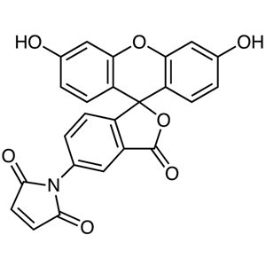 Fluorescein-5-maleimide (contains 2% N,N-Dimethylformamide at maximum)
