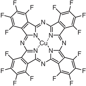 1,2,3,4,8,9,10,11,15,16,17,18,22,23,24,25-Hexadecafluorophthalocyanine Copper(II) (purified by sublimation)