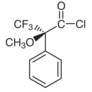 (S)-(+)-α-Methoxy-α-(trifluoromethyl)phenylacetyl Chloride [for Determination of the optical purity of Alcohols and Amines]