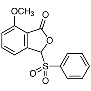7-Methoxy-3-phenylsulfonyl-1(3H)-isobenzofuranone