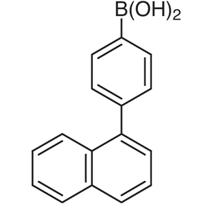4-(1-Naphthyl)phenylboronic Acid (contains varying amounts of Anhydride)
