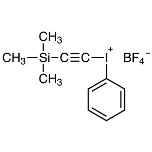 Trimethylsilylethynyl(phenyl)iodonium Tetrafluoroborate