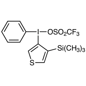 Phenyl[4-(trimethylsilyl)thiophen-3-yl]iodonium Trifluoromethanesulfonate