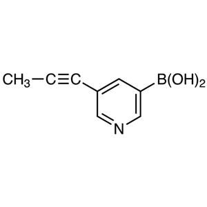 5-(1-Propynyl)pyridine-3-boronic Acid (contains varying amounts of Anhydride)