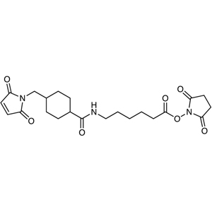 N-Succinimidyl 6-[[4-(N-Maleimidomethyl)cyclohexyl]carboxamido]hexanoate