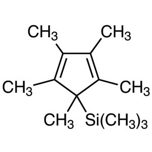 5-(Trimethylsilyl)-1,2,3,4,5-pentamethyl-1,3-cyclopentadiene