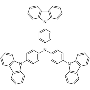 4,4',4''-Tri-9-carbazolyltriphenylamine (purified by sublimation)