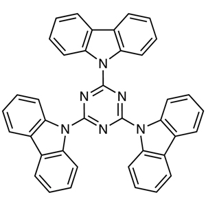 2,4,6-Tri(9H-carbazol-9-yl)-1,3,5-triazine (purified by sublimation)
