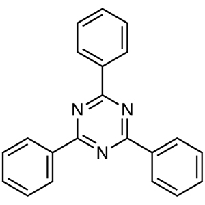 2,4,6-Triphenyl-1,3,5-triazine (purified by sublimation)