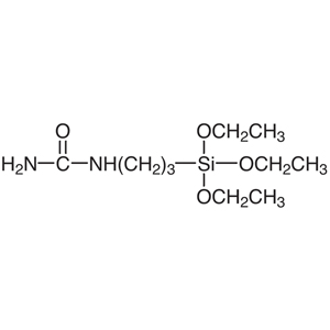 1-[3-(Triethoxysilyl)propyl]urea (40-52% in Methanol)